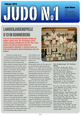 Judonewsletter Judo No1 Februar 2012