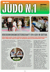 Judonewsletter Judo No1 März 2012