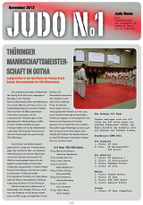 Judonewsletter Judo No1 November 2012